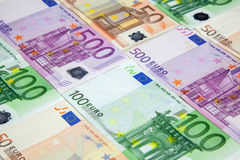 euros Foto de archivo libre de regalías