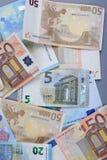 euros Royaltyfria Bilder