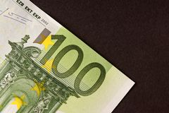 100 euros Royalty Free Stock Photo