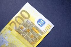 200 euros Royalty Free Stock Images
