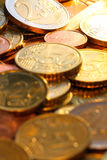 Euros coins Stock Photo