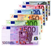 Euros Credit - cash money concept Stock Image