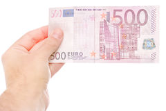 500 euros Royalty Free Stock Images