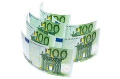 euros hundra Royaltyfri Bild