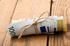 Euros Money Immagine Stock
