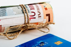 Euros Money Photo stock