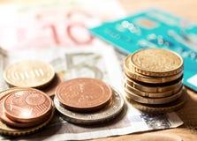 Euros Money imagenes de archivo