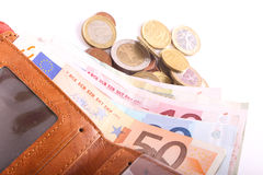Euros Money Stock Photo