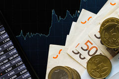 Euros money Stock Image