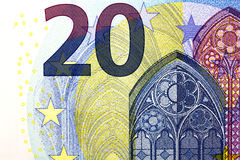20 euros a new version.... Royalty Free Stock Image