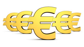 Euros order Royalty Free Stock Images