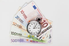 Euros Time Stock Photo