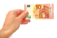 10 euros (version 2014) Images libres de droits