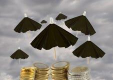 Rettung des Euros Lizenzfreie Stockbilder