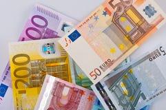 Eurosamling arkivfoton