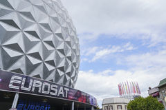 Eurosat in France themed area - Europa Park in Rust, Germany Stock Photos