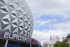 Eurosat in themenorientiertem Bereich Frankreichs - Europa-Park im Rost, Deutschland Stockfotos