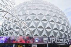 Eurosat w Francja o temacie terenie - Europa park w rdzy, Niemcy Obrazy Royalty Free