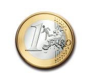Euroscepticism ucieczka od UE Zdjęcie Stock