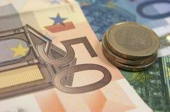 Eurosedlar arkivbilder