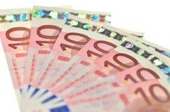 Eurosedlar Royaltyfri Foto