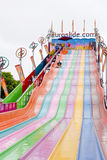 EuroSlide Attraction. At the Orange County Fair Stock Photos