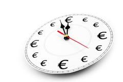 eurospengartid Arkivbilder