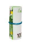 eurosrulle Royaltyfri Bild