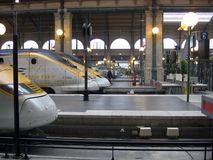 Free Eurostar At The Gare Du Nord Station Paris France Royalty Free Stock Photography - 119450957