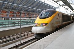 Eurostar Royalty Free Stock Images