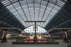 Trains Photo libre de droits
