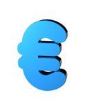 Eurosymbol Stockfoto