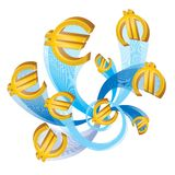 Eurosymbol lizenzfreie abbildung