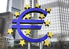 eurotecken Royaltyfria Foton