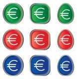 eurotecken Arkivbilder