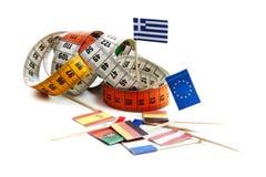 eurotryck under Royaltyfri Bild