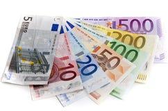 eurotryck under Royaltyfria Bilder