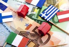 eurotryck under Arkivbilder