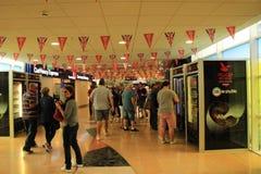 Eurotunnel Le Shuttle Passenger Terminal inside Stock Images