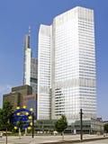 Euroturm in Frankfurt am Main Stockbilder