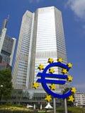 Euroturm in Frankfurt am Main Lizenzfreie Stockfotos