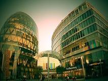Eurovea是新的布拉索夫国际商业中心的名字 库存图片
