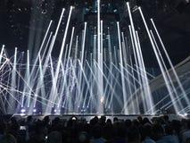Eurovisie in de Oekraïne, Kyiv 05 13 2017 redactie Eurovisi Royalty-vrije Stock Foto