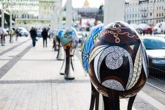 Eurovision 2017 στην Ουκρανία, ζώνη ανεμιστήρων, Kyiv Στοκ Εικόνες