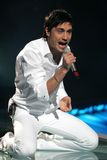 Eurovision 2008 Dima Russia Stock Photos