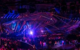 Eurovision 2017 em Ucrânia foto de stock royalty free