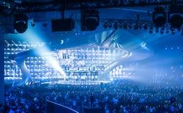 Eurovision 2017 em Ucrânia fotografia de stock