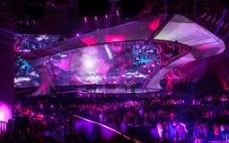 Eurovision 2017 em Ucrânia fotografia de stock royalty free
