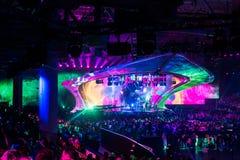Eurovision 2017 em Ucrânia imagens de stock royalty free