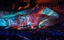 Eurovision 2017 em Ucrânia fotos de stock royalty free